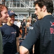 James Blunt +Vettel + Webber